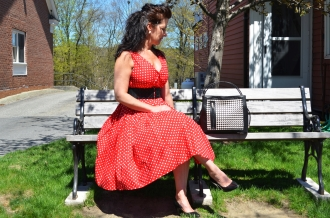 Trudy Red Dress