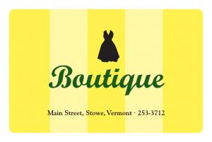 The Boutique Stowe VT